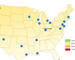 25 Steden in Amerika