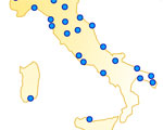 25 Steden in Italië