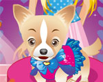 Barbie en Schattige Hond