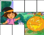 Dora Halloween Puzzel