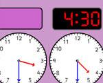 Halve Uren Digitale Klok