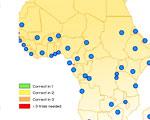 Hoofdsteden in Afrika