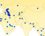 Hoofdsteden in Azië