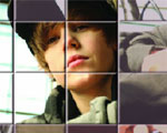 Justin Bieber Schuifpuzzel